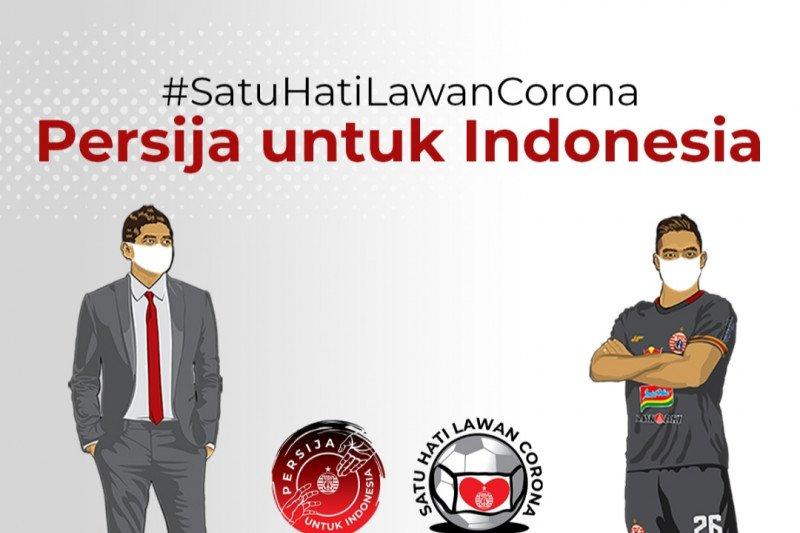 Galang donasi Persija Jakarta tembus Rp200 juta