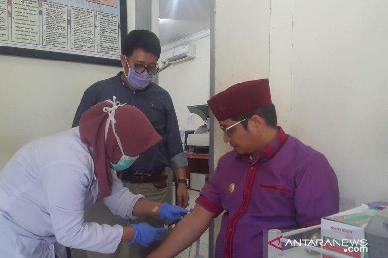 Pasha Ungu jalani pemeriksaan kesehatan setelah tiba di Palu