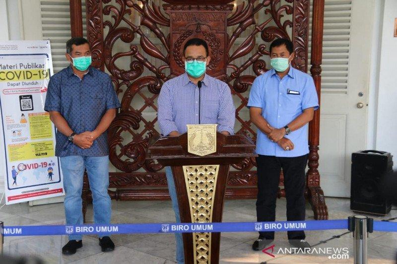 Anies sebut 61 tenaga medis di Jakarta terpapar virus corona