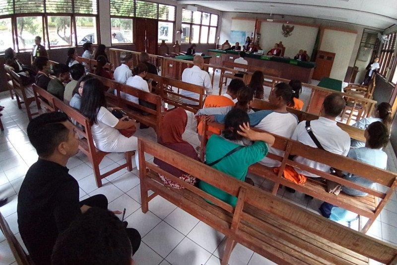 Proses persidangan di PN Denpasar akan berlangsung secara online