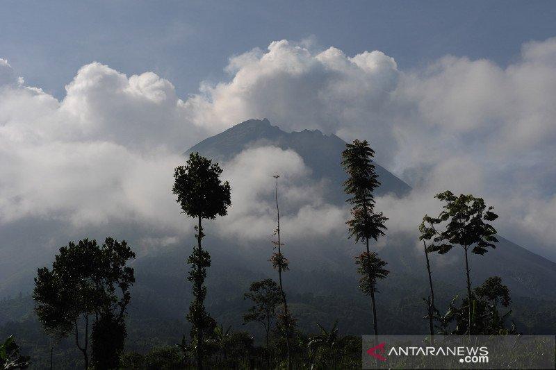 Aktivitas gunung Merapi pascaerupsi