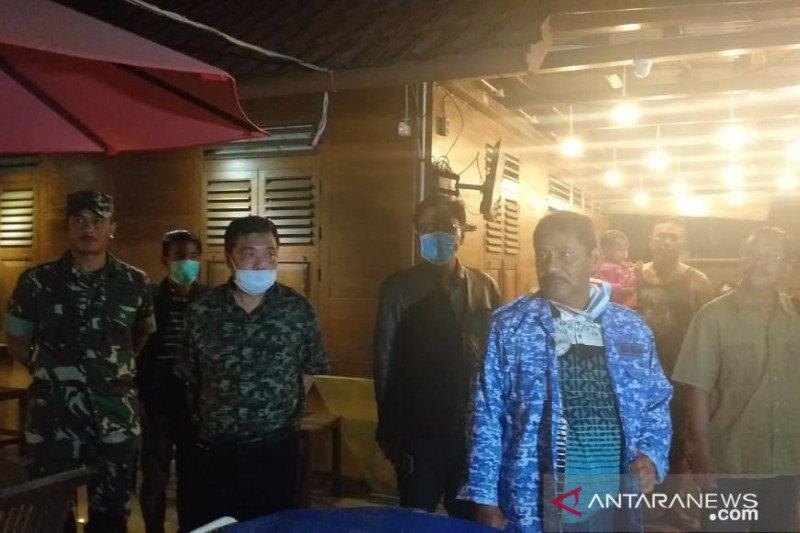 Cegah COVID-19, Forkopimda Belitung bubarkan kerumunan massa