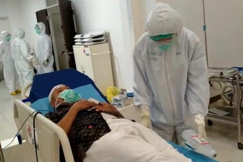 RS Darurat COVID-19 Wisma Atlet Kemayoran rawat 416 pasien