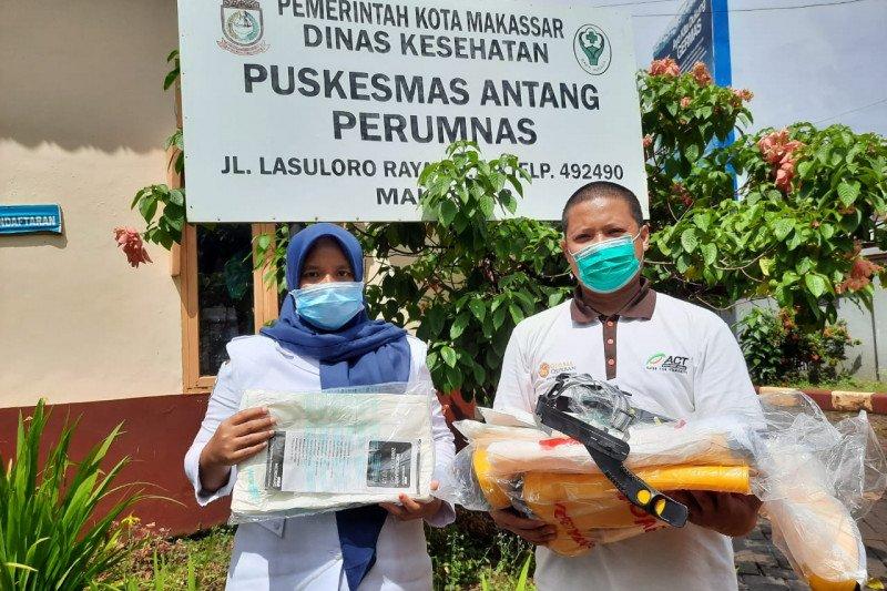 ACT Sulsel salurkan APD ke sejumlah puskesmas di Makassar