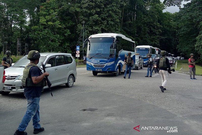 Dua korban penembakan di Kantor PT FI dibawa ke Tembagapura