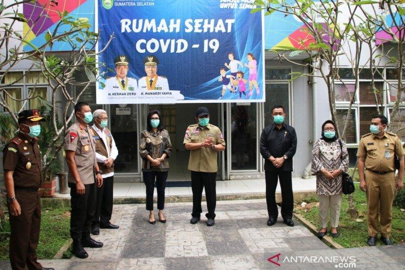 Polda Sumsel bantu pengelolaan Rumah Sehat COVID-19