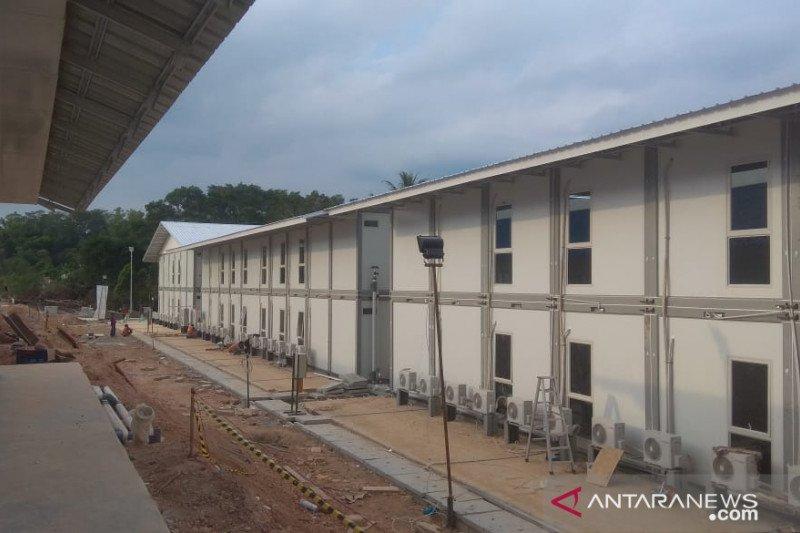Bekas kamp pengungsi itu telah jadi bangunan