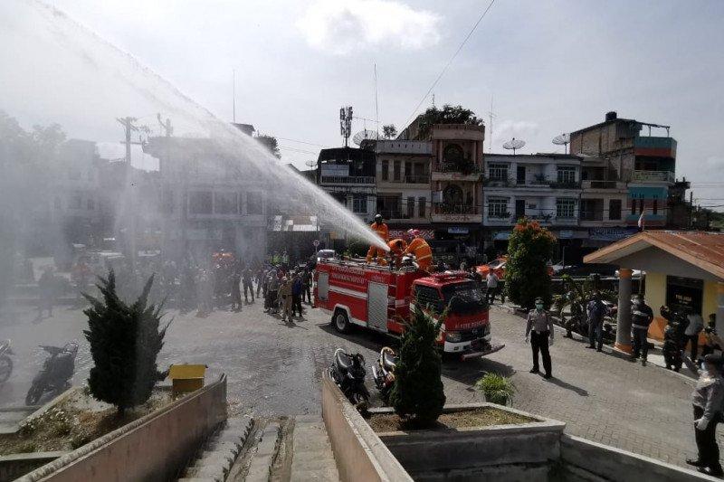 Sebelumnya oranye, Kabupaten Dairi-Sumut jadi zona merah COVID-19