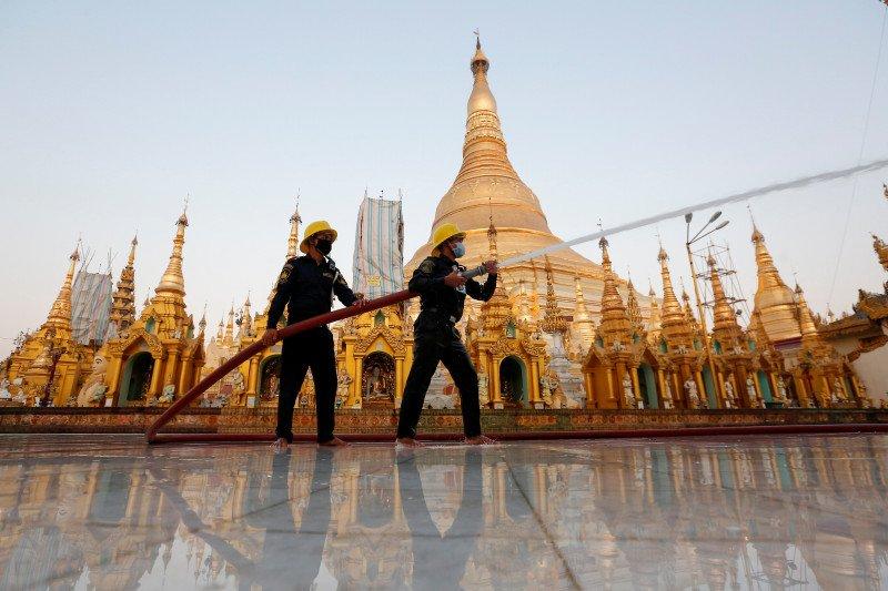 Myanmar temukan delapan kasus corona impor  dari Malaysia
