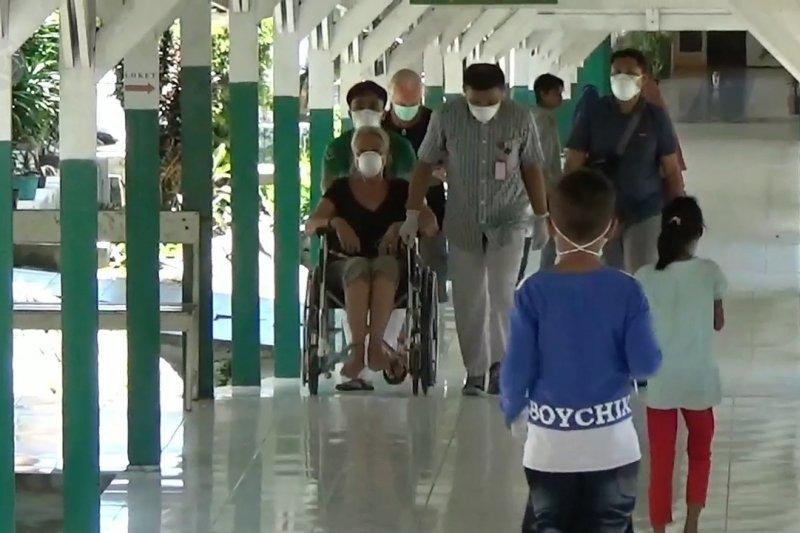 Sempat panas tinggi, Pasien WNA Perancis dinyatakan bebas corona
