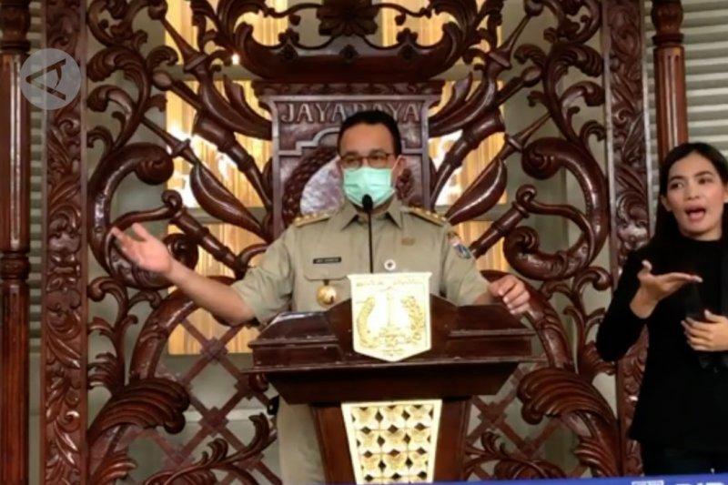 Anies: tak ada pasokan pun, kebutuhan pokok Jakarta aman 2 bulan