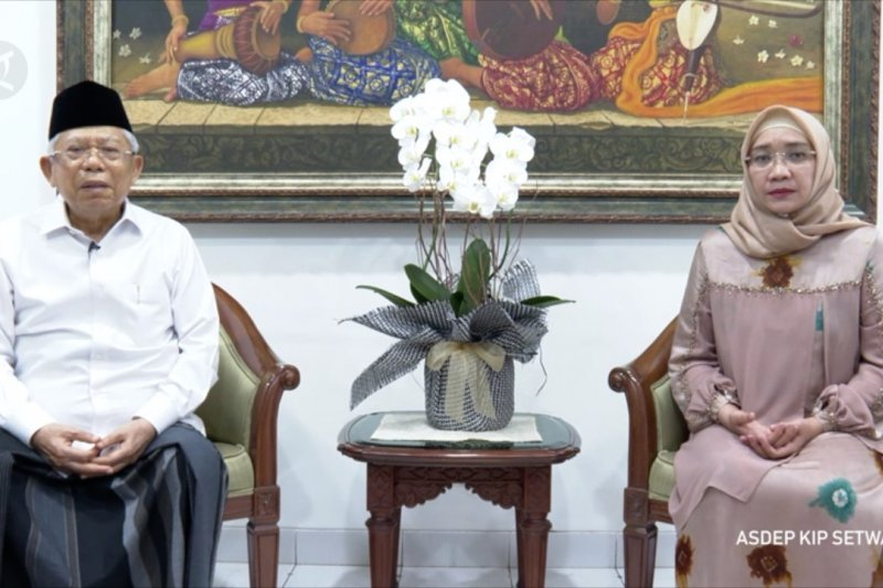 Saat Wapres Ma'ruf sampaikan belasungkawa untuk Presiden Jokowi