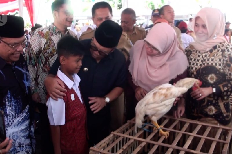 Wali Kota Bandung nilai chickenisasi tumbuhkan jiwa kewirausahaan pelajar