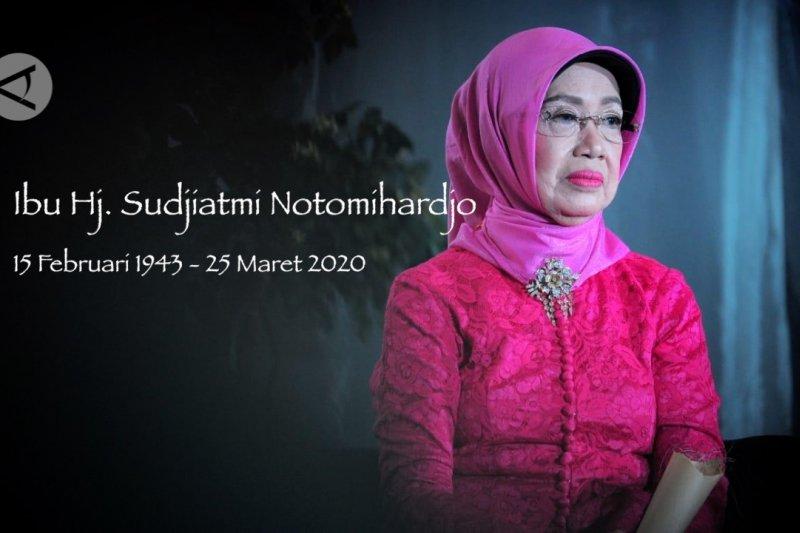 Ibunda Presiden Jokowi akan dimakamkan besok siang