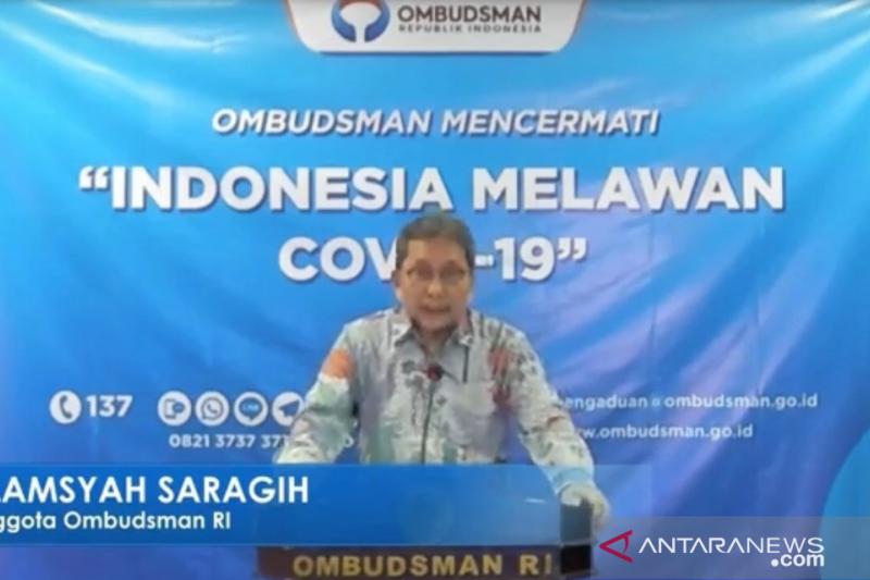 Ombudsman: Ada beda definisi lockdown Indonesia dengan sejumlah negara