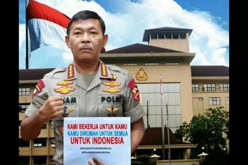 Kemarin, instruksi Kapolri terkait bansos hingga jam malam di Surabaya