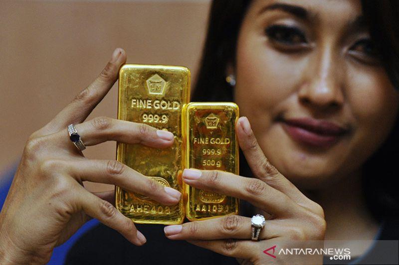 Harga emas Antam naik menjadi Rp920 ribu/gram