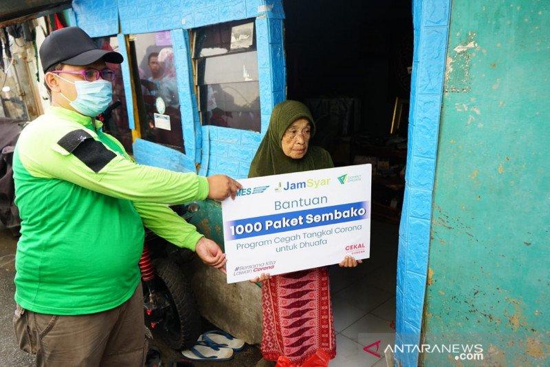 Dompet Dhuafa bagikan 1.000 paket sembako cegah penyebaran COVID-19