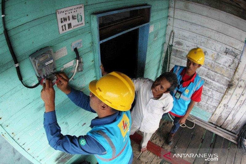 PLN: 307.193 pelanggan di Riau dapat listrik gratis dan diskon