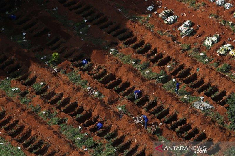 Brazil laporkan penambahan 2.408 kematian COVID