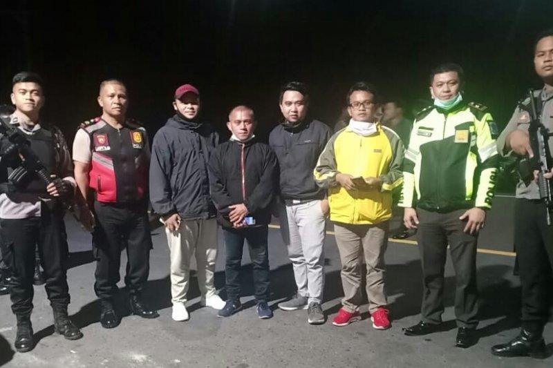 Personel Polres Minahasa Tenggara disiagakan di perbatasan Sulut