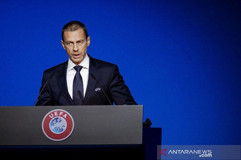 """UEFA ingin """"bangun kembali persatuan"""" setelah kisruh Liga Super Eropa"""