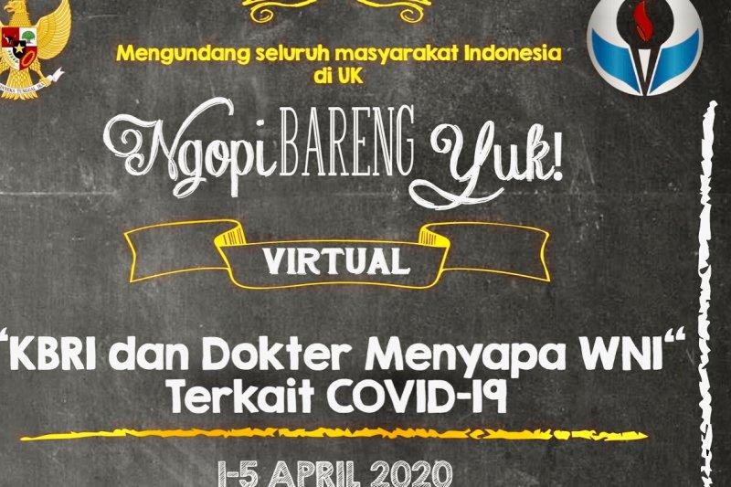 Ngopi Bareng Virtual cara KBRI London edukasi WNI saat wabah COVID-19