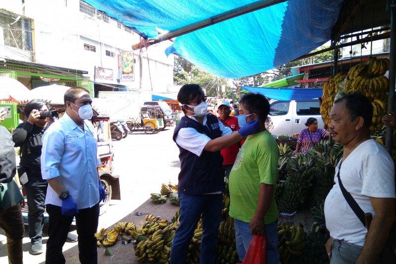 PMI Makassar kolaborasi berbagai lembaga sosialisasi cegah COVID-19