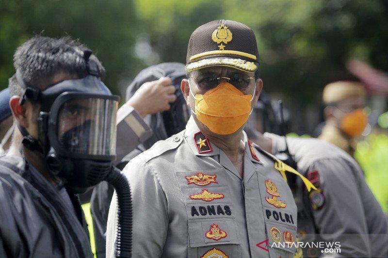 Kapolda Gorontalo imbau masyarakat tetap di rumah, cegah corona