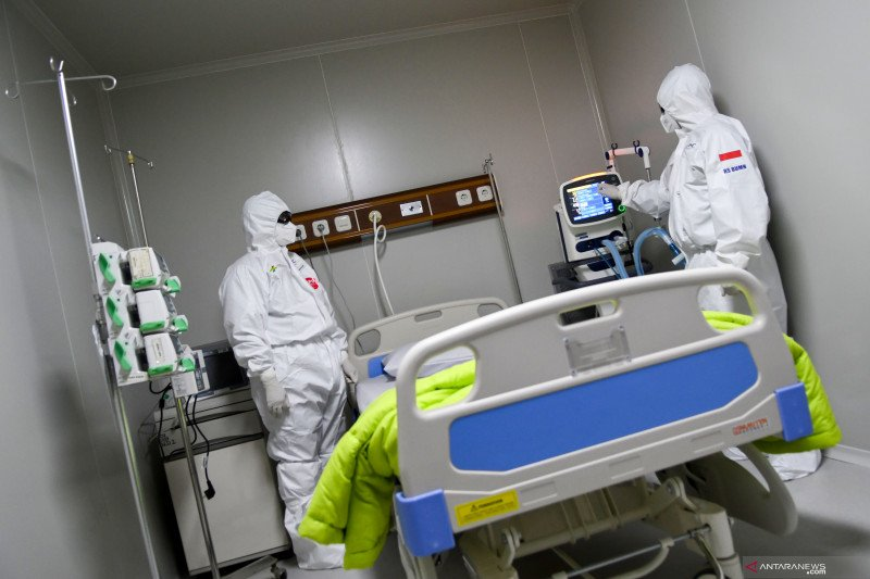 Keterpakaian ruang ICU-isolasi COVID-19 di Jakbar lebih dari 70 persen