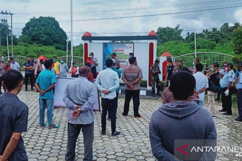 Lapas Narkotika Jayapura asimilasi 64 narapidana