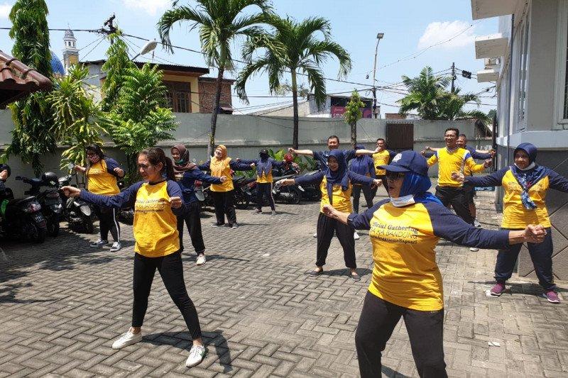 Bakal calon wakil wali kota Surabaya ajak giatkan senam lawan COVID-19