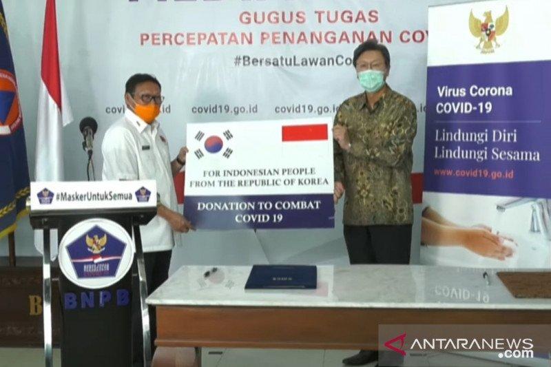 Korea Selatan donasikan 625.000 masker KF94 kepada Indonesia