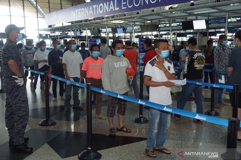 Deportasi TKI ilegal dari Malaysia