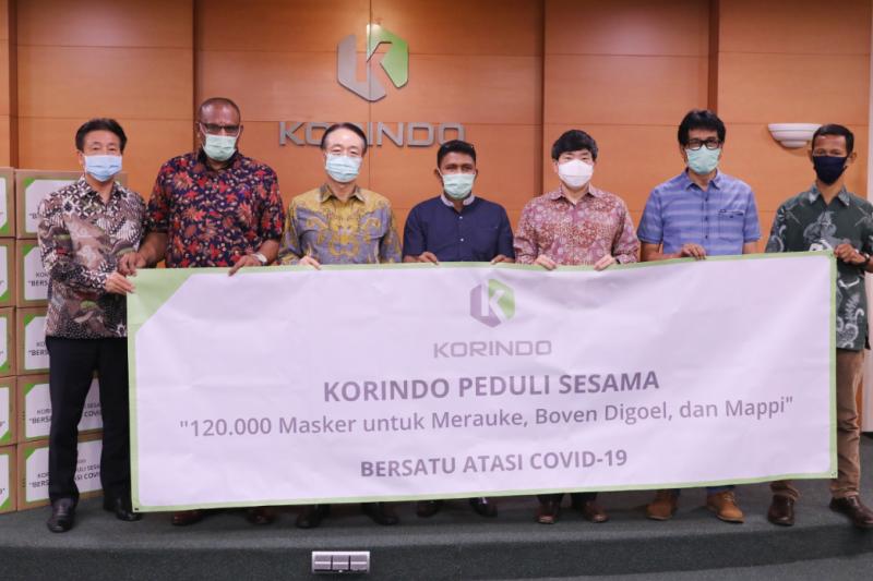 Korindo Group kirimkan bantuan 120.000 masker ke Papua