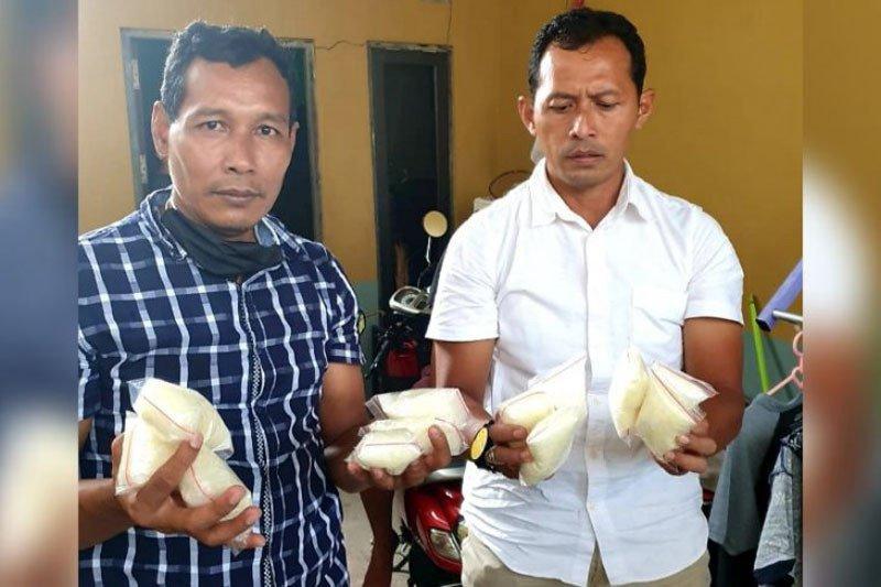 Polisi Palangka Raya sita 1,2 kilogram sabu dari seorang bandar