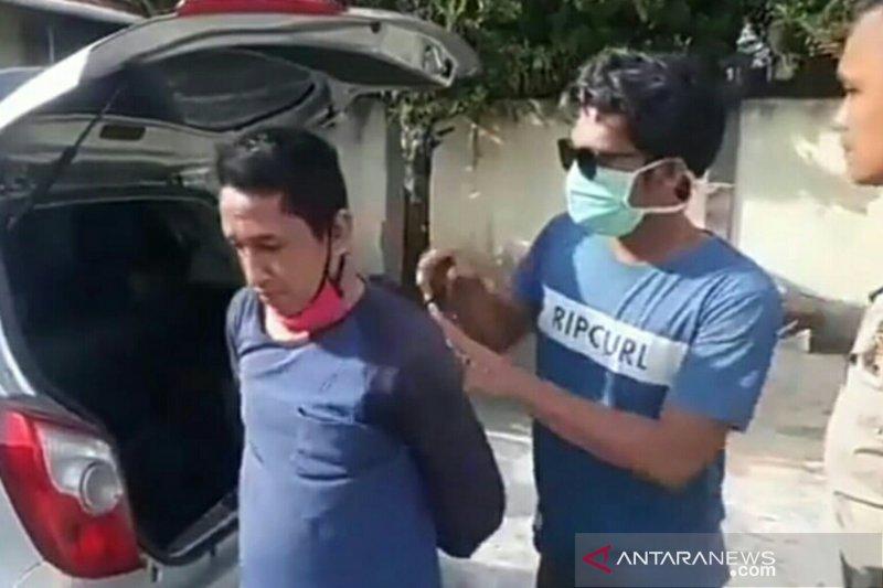 Baru bebas asimilasi, seorang pria nekat mencuri di rumah sakit