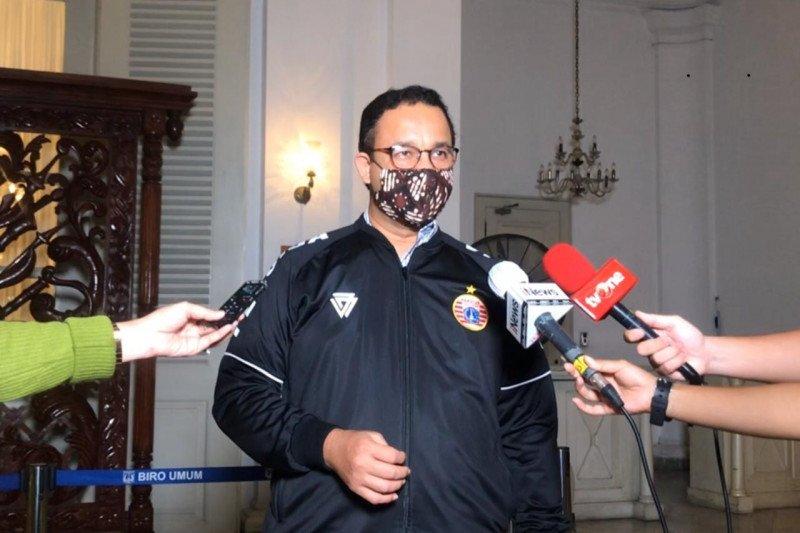 Anies Sebut Psbb Hari Pertama Berjalan Baik Antara News Sumatera Barat