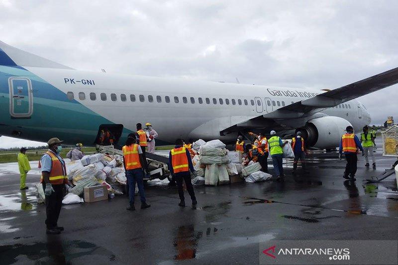 Penumpang sepi, Garuda kirim kargo hasil laut Indonesia ke China