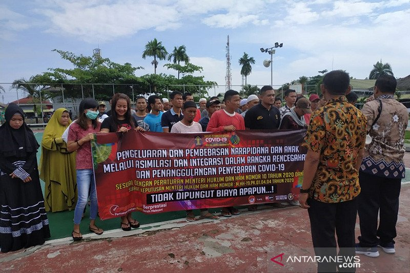 Lapas Banjarmasin bebaskan 301 warga binaan cegah penyebaran COVID-19