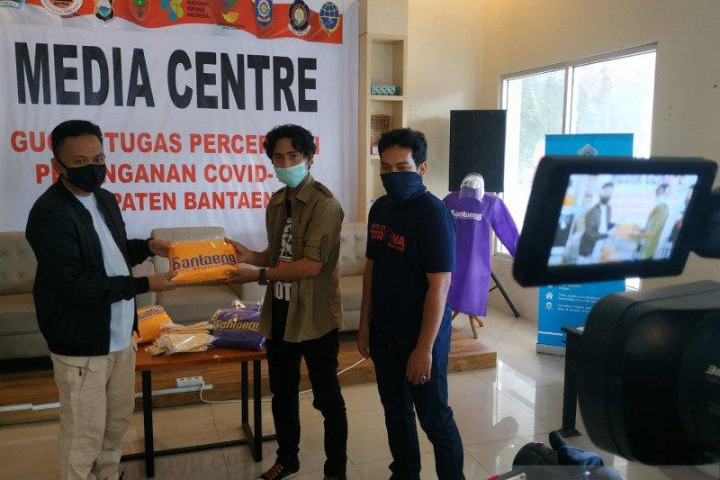 Pemkab Bantaeng beri sumbangan APD pada JPK Sulsel