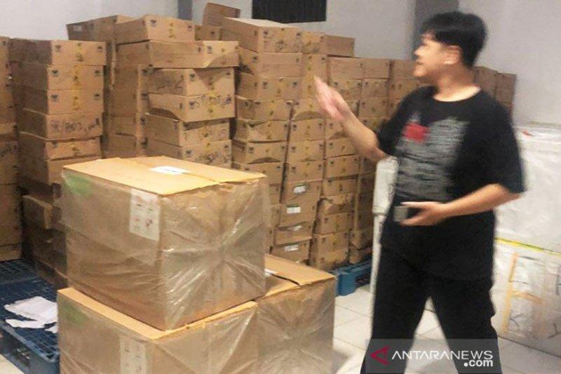 Polisi selidiki kasus pencurian ribuan masker di gudang Dinkes Kalteng