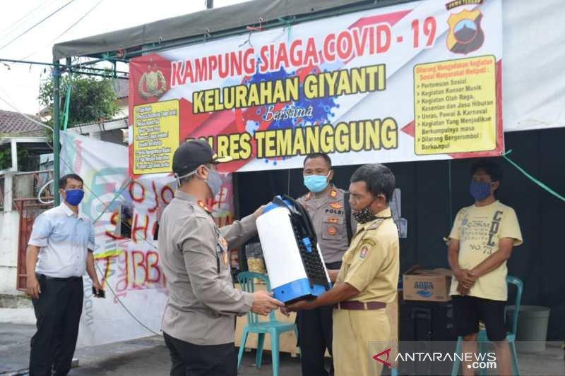 Polres Temanggung bentuk Kampung Siaga COVID-19 di 7 kelurahan