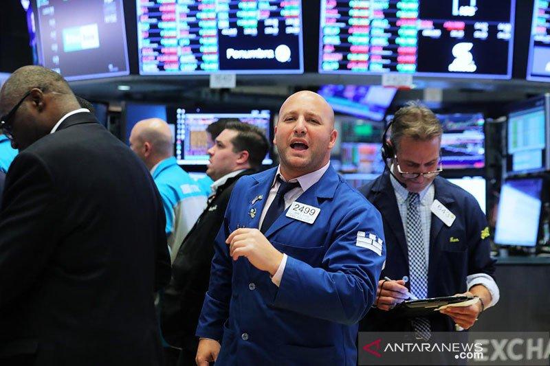 Wall Street naik didukung lonjakan saham Boeing dan obat virus corona