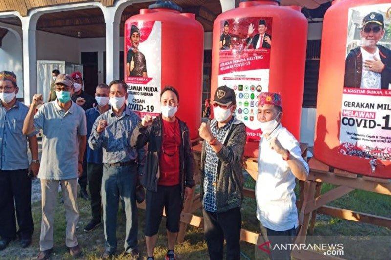 Gaji lima tahun Gubernur Kalteng  Rp9 miliar dibagikan warga terdampak