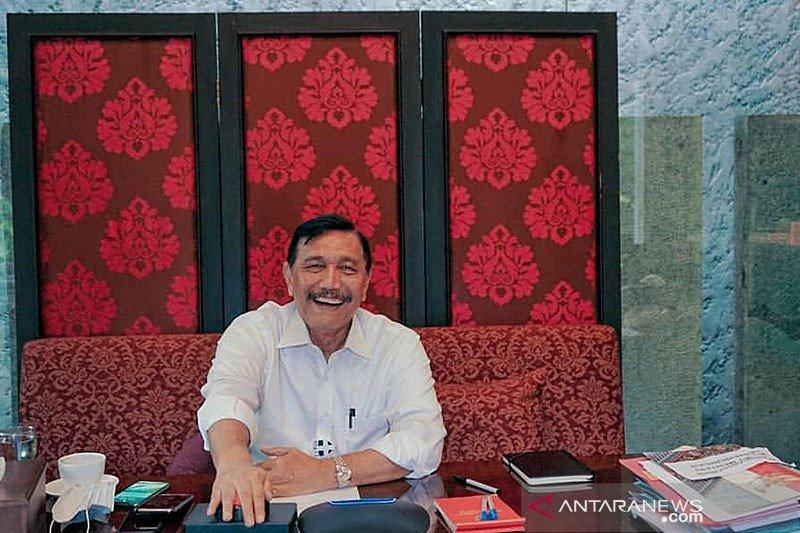 """Luhut """"groundbreaking"""" virtual Bandara Kediri"""