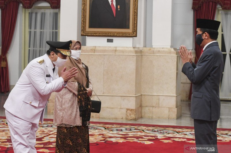 Presiden lantik wakil gubernur DKI Jakarta di tengah pandemi COVID-19