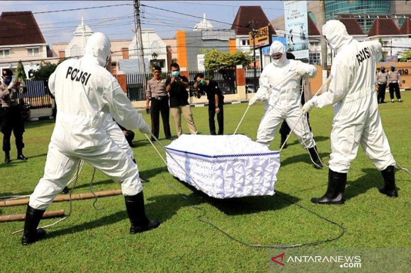 Polda DIY siapkan personel bantu pemakaman korban COVID-19