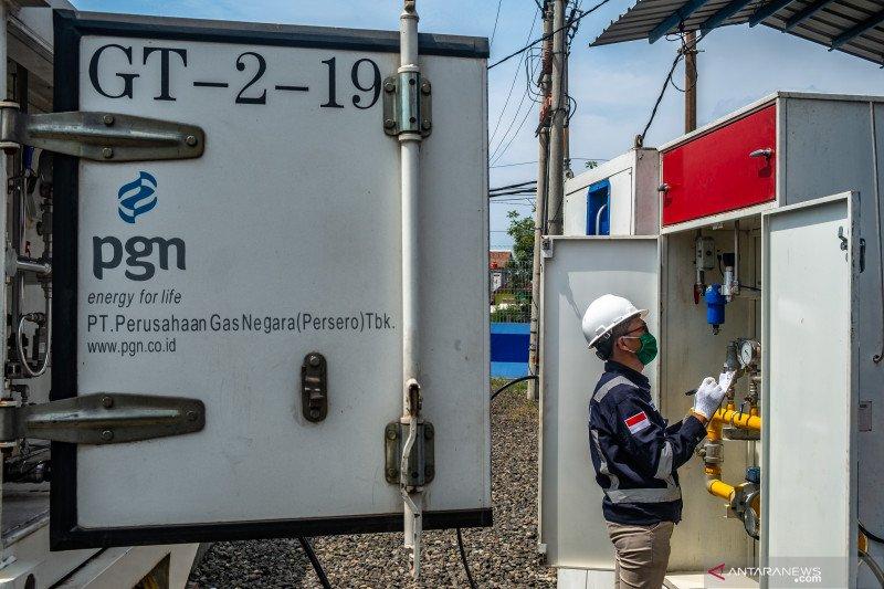 Di kota penghasil migas ini bakal dipasang 20.000 jaringan gas