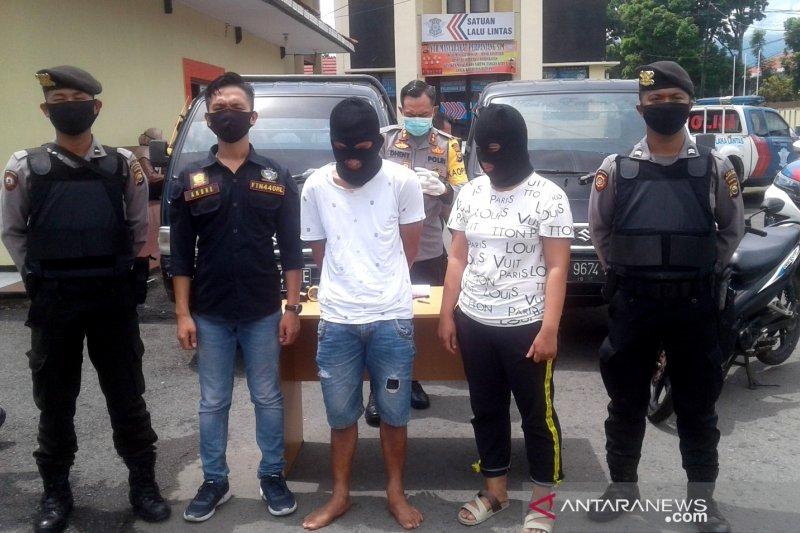 Polisi tangkap suami istri pelaku pencurian mobil